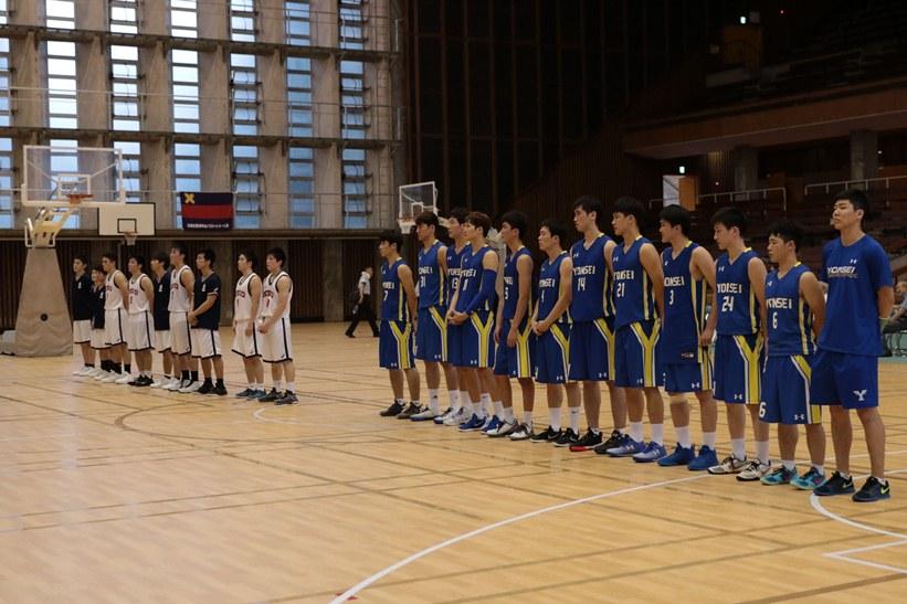 慶應義塾大学・延世大学校バスケットボール定期戦